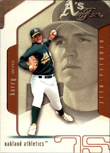 Photo of 2002 Flair #82 Barry Zito