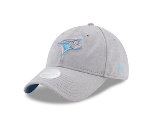 Toronto Blue Jays Youth Sporty Sleek Grey/Lt.Blue Adjustable Cap by New Era