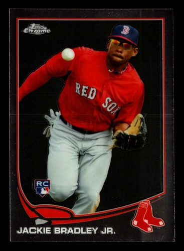 Photo of 2013 Topps Chrome #166 Jackie Bradley Jr. Rookie Card