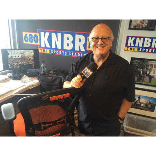 Photo of Giants End of Year Auction: Jon Miller Autographed Announcer Chair