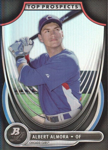 Photo of 2013 Bowman Platinum Top Prospects #AA Albert Almora Cubs post-season