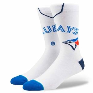 Toronto Blue Jays Instance Home Jersey Socks by Stance