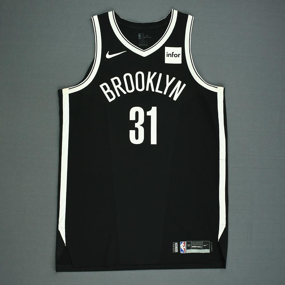 Jarrett Allen - Brooklyn Nets - Game-Worn Rookie Debut Jersey - 2017-18 Season