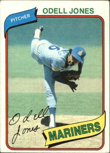 Photo of 1980 Topps #342 Odell Jones