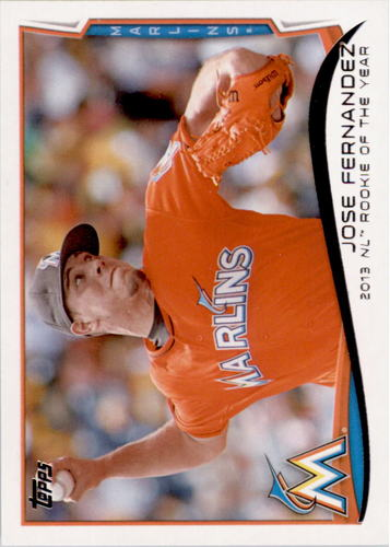 Photo of 2014 Topps #413 Jose Fernandez