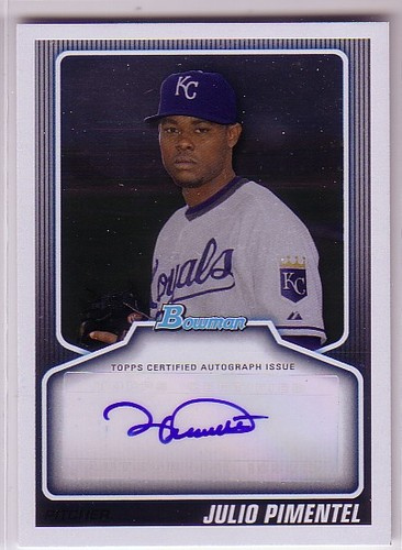Photo of 2010 Bowman Draft Prospect Autographs #JPI Julio Pimentel