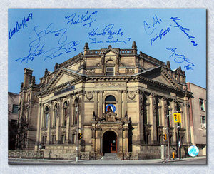 Hockey Hall of Fame Multi-Signed 11x14 Photo *11 Autographs* *Red Kelly, Ted Lindsay, Borje Salming, etc*