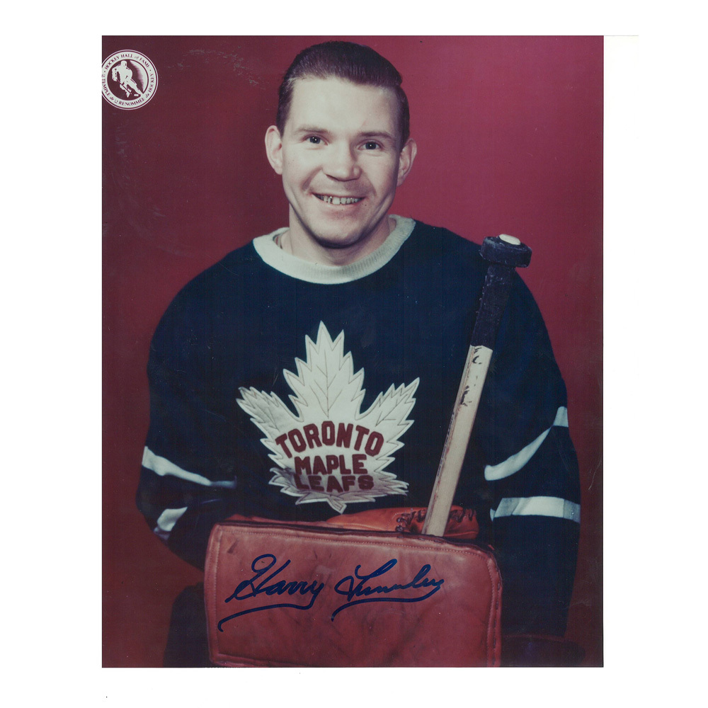 HARRY LUMLEY Signed Toronto Maple Leafs 8 X 10 Photo - 70072