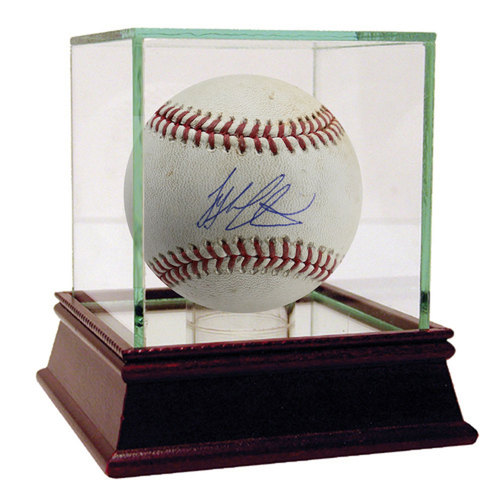 Photo of Tyler Austin Autographed Game-Used Baseball - Case Not Included