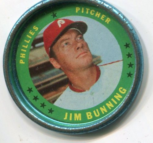 Photo of 1971 Topps Coins #3 Jim Bunning