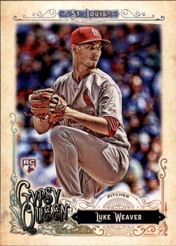 Photo of 2017 Topps Gypsy Queen #249 Luke Weaver RC