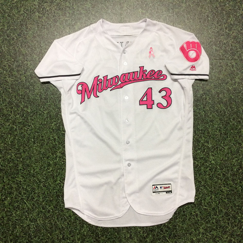 Photo of Lee Tunnell 2017 Mother's Day Tribute Game-Used Jersey