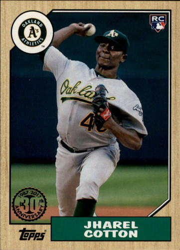Photo of 2017 Topps '87 Topps #87200 Jharel Cotton
