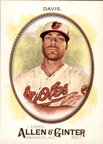 Photo of 2017 Topps Allen and Ginter #283 Chris Davis