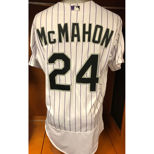 Photo of Colorado Rockies Ryan McMahon Game-Used Jersey to Aid Hurricane Harvey Relief Efforts