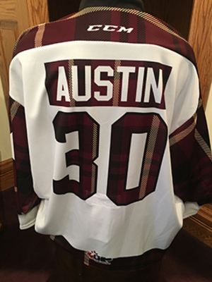Tye Austin (#30) - Game-Worn #PetesPlaidNight Jersey