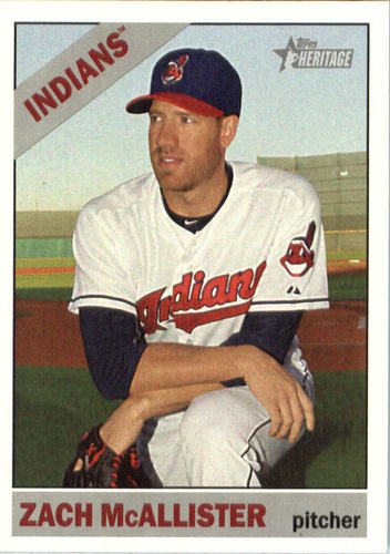 Photo of 2015 Topps Heritage #515 Zach McAllister