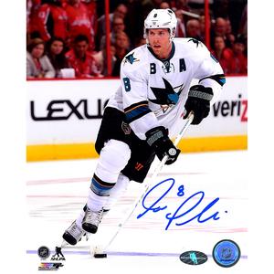 Joe Pavelski Signed San Jose Sharks RUSH 8x10 Photo + FREE GIFT!