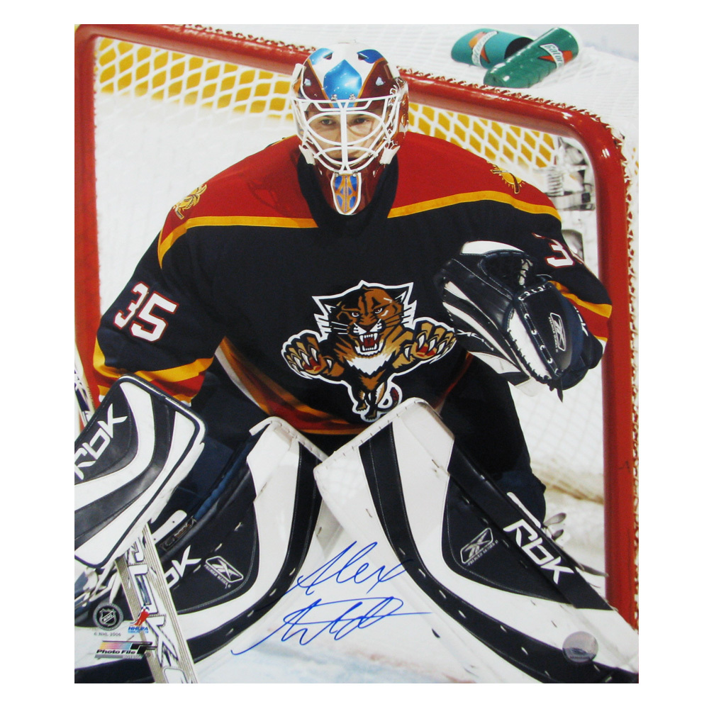 ALEX AULD Signed Florida Panthers 16 X 20 Photo - 79010