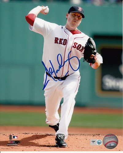 Photo of John Lackey Autographed 8x10