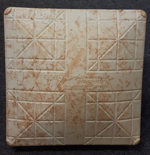 Photo of Authenticated Game Used Base - 3rd Base for Innings 1-3 (June 1-4, 2017) - Aaron Judge's first games and HR in Toronto