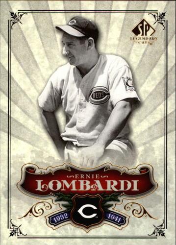 Photo of 2006 SP Legendary Cuts #69 Ernie Lombardi