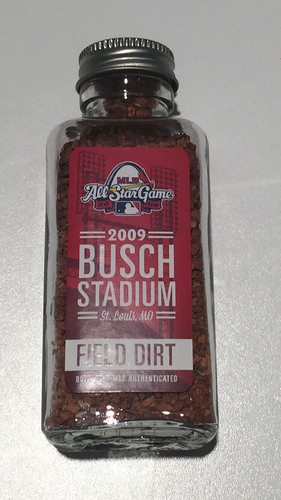 Photo of 2009 All-Star Game-Used Dirt Jar - Busch Stadium