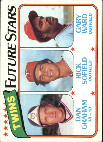 Photo of 1980 Topps #669 Dan Graham RC/Rick Sofield/Gary Ward RC