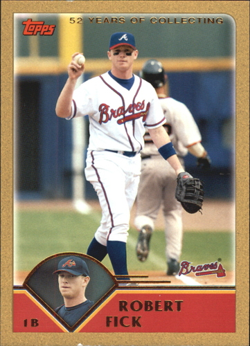 Photo of 2003 Topps Traded Gold #T28 Robert Fick