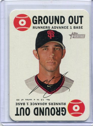 Photo of 2017 Topps Heritage Topps Game #13 Madison Bumgarner