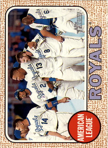 Photo of 2017 Topps Heritage #305 Kansas City Royals TC