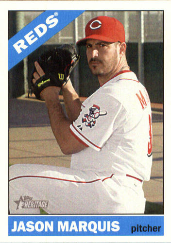Photo of 2015 Topps Heritage #518 Jason Marquis