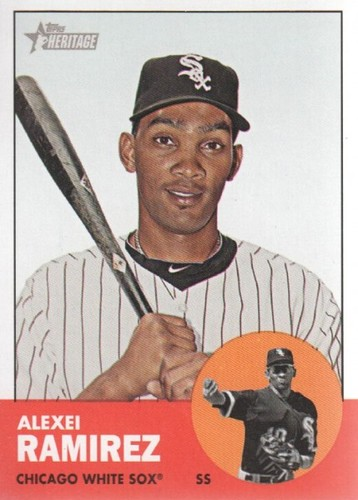 Photo of 2012 Topps Heritage #271 Alexei Ramirez