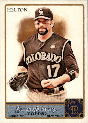 Photo of 2011 Topps Allen and Ginter #154 Todd Helton