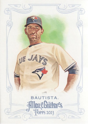 Photo of 2013 Topps Allen and Ginter #63 Jose Bautista