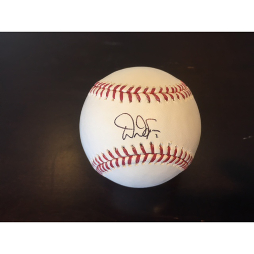 Photo of Giants Community Fund: Denard Span Autographed Baseball