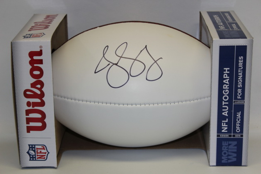 NFL - TEXANS JAELEN STRONG SIGNED PANEL BALL