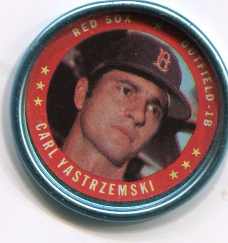 Photo of 1971 Topps Coins #58 Carl Yastrzemski