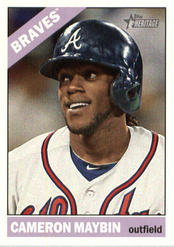 Photo of 2015 Topps Heritage #519 Cameron Maybin
