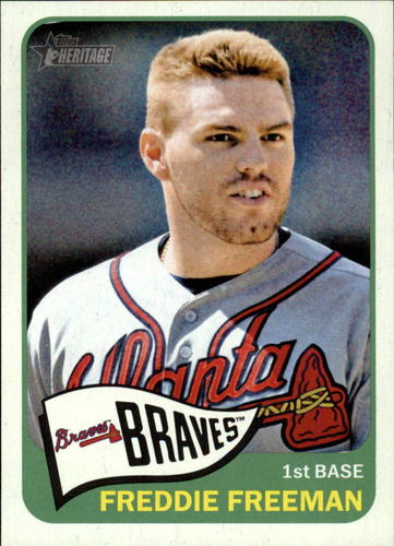 Photo of 2014 Topps Heritage #148A Freddie Freeman