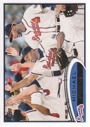 Photo of 2012 Topps #429 Michael Bourn