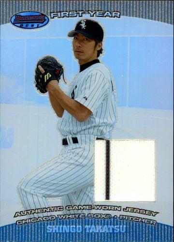 Photo of 2004 Bowman's Best #ST Shingo Takatsu FY Jsy RC