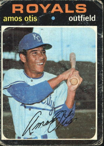 Photo of 1971 Topps #610 Amos Otis