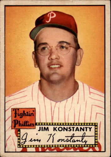 Photo of 1952 Topps #108 Jim Konstanty