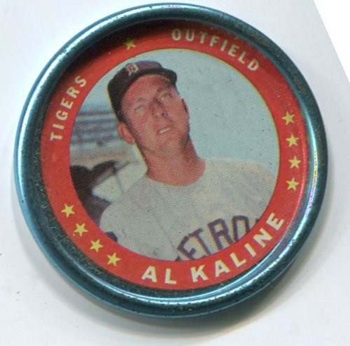 Photo of 1971 Topps Coins #62 Al Kaline