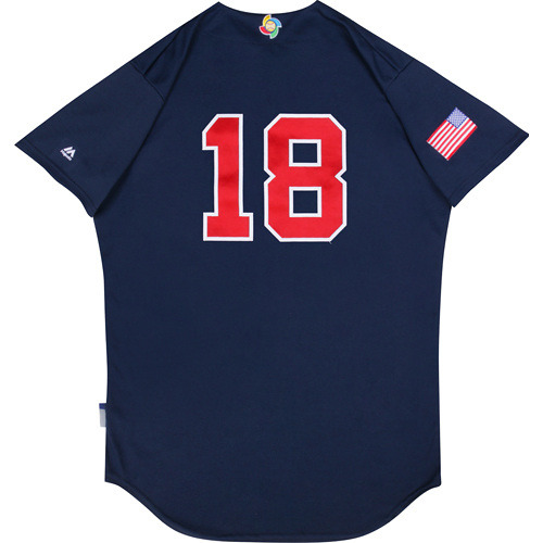 Photo of 2017 WBC: USA Game-Used Batting Practice Jersey, Luke Gregerson #18