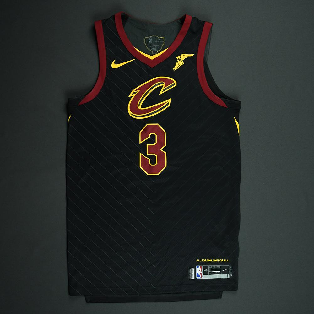 George Hill - Cleveland Cavaliers - 2018 NBA Finals - Game 1 - Game-Worn Black 'Statement' Jersey