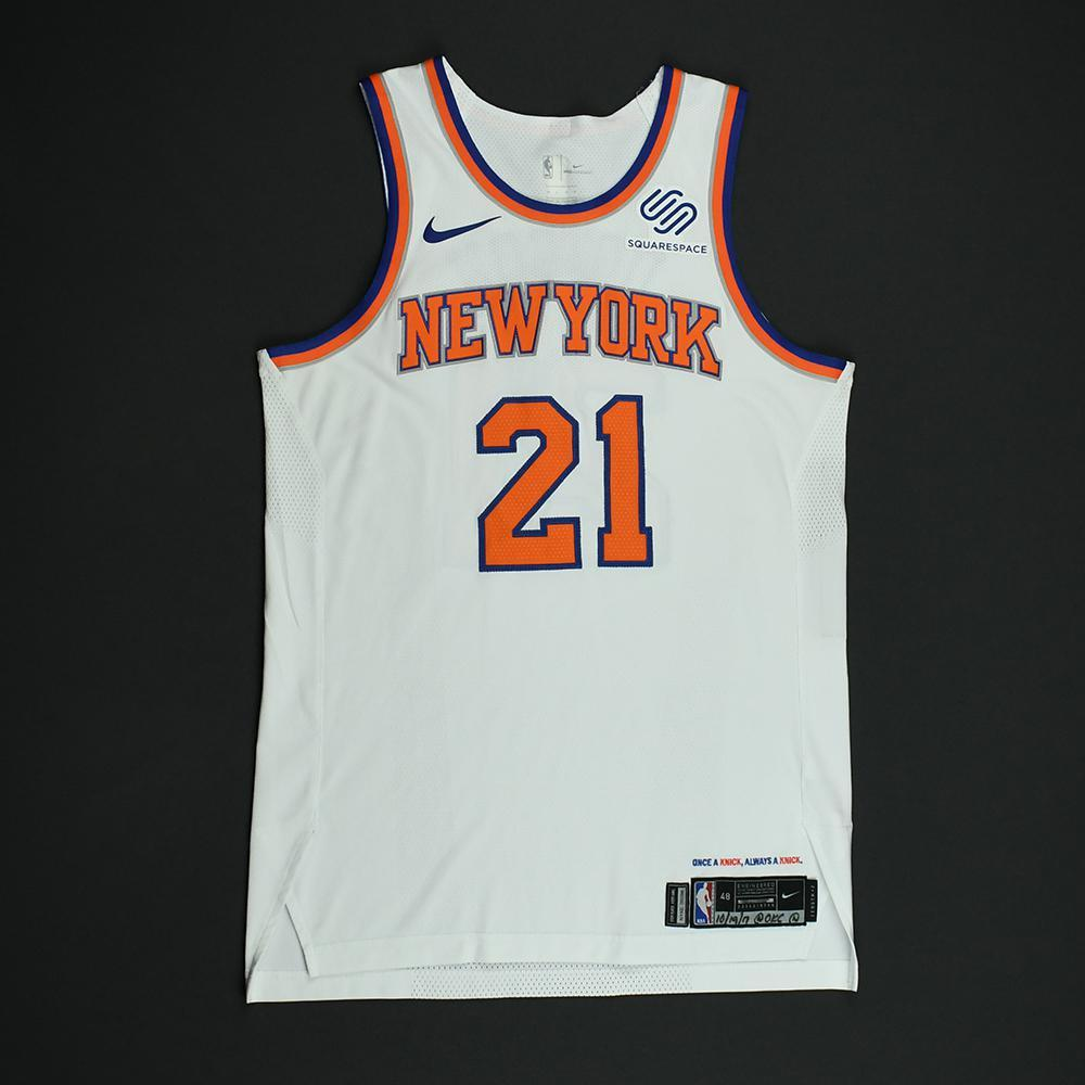 Damyean Dotson - New York Knicks - Game-Issued Jersey - 2017-18 Season