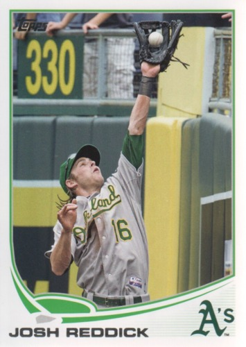 Photo of 2013 Topps #316A Josh Reddick