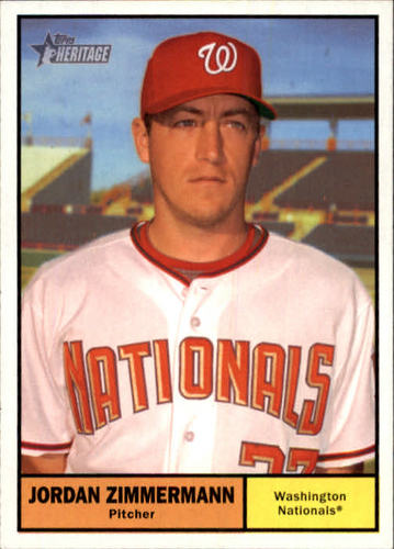 Photo of 2010 Topps Heritage #255 Jordan Zimmermann
